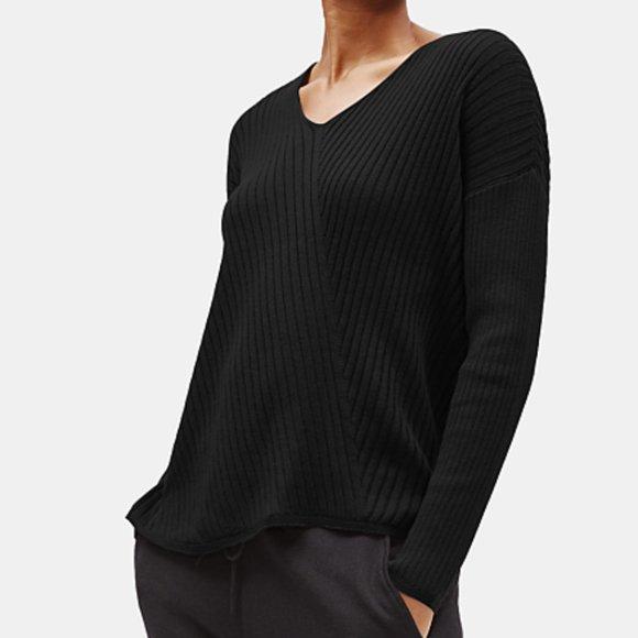 Eileen Fisher Womens Tencel Blend Turtleneck Tunic Top